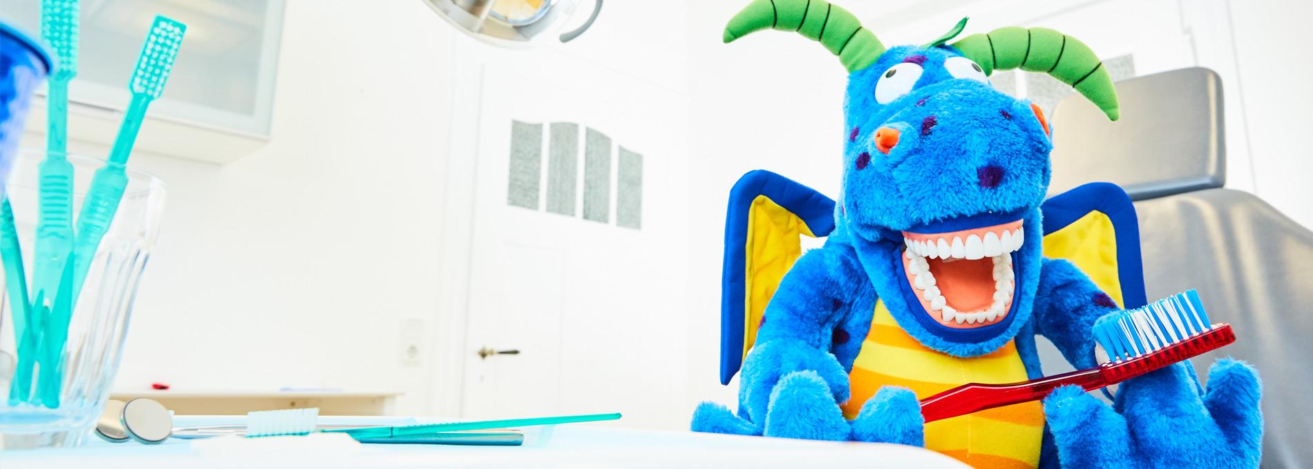 Zahnarztpraxis  Zahnrhein in Walluf - Kinderbehandlung 2