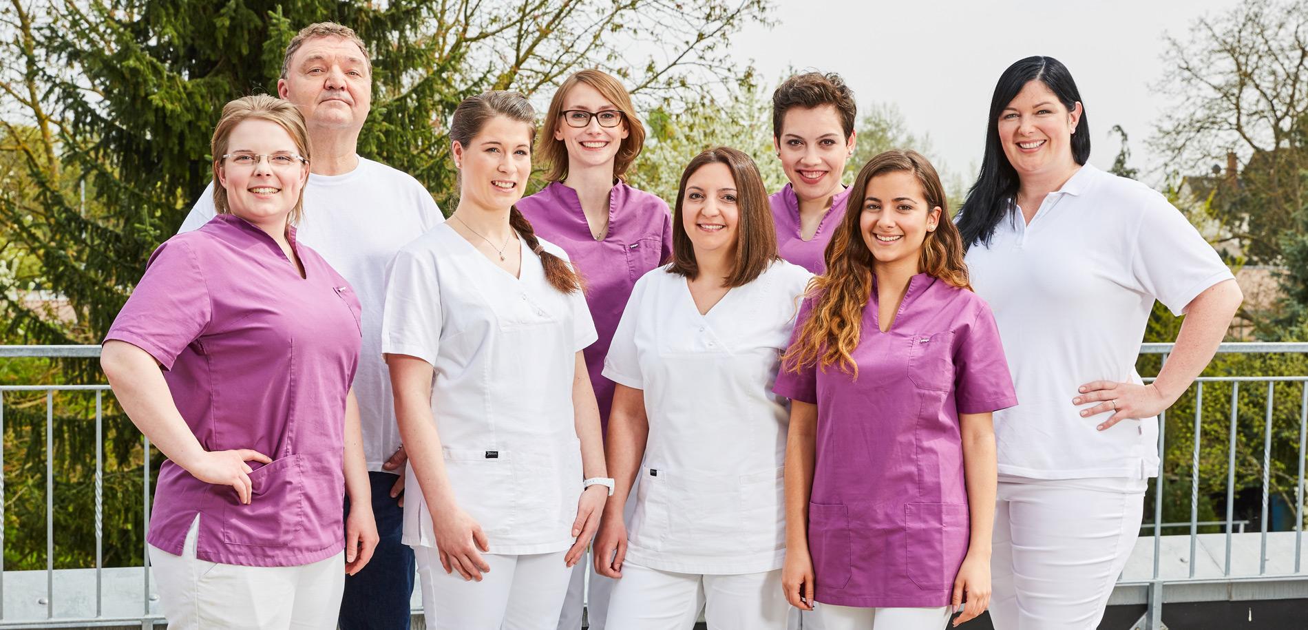 Zahnarztpraxis  Zahnrhein in Walluf - Team 1