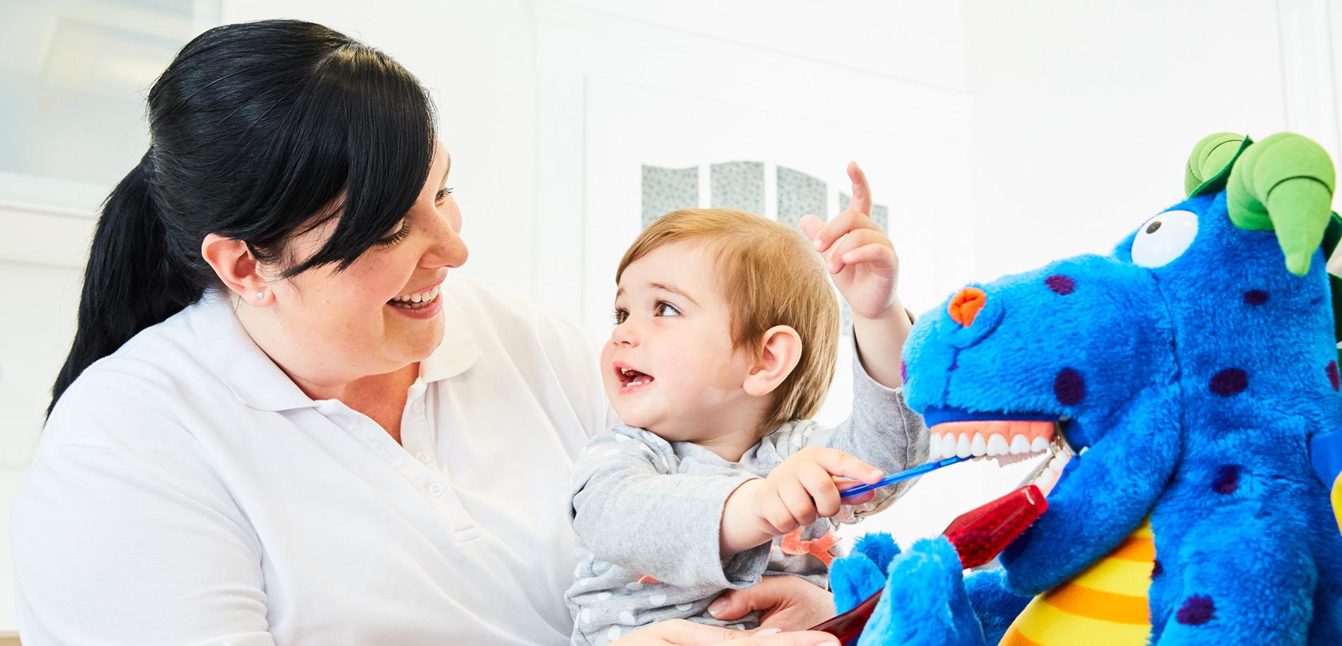 Zahnarztpraxis  Zahnrhein in Walluf - Kinderbehandlung 1